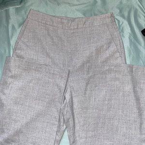 Zara basic Collection High waist Trousers Grey